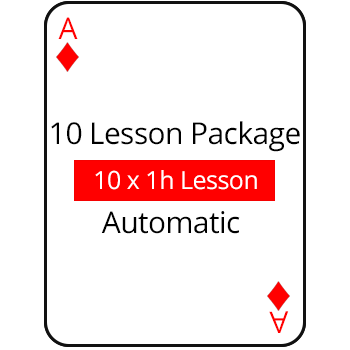10 Lesson Package Auto
